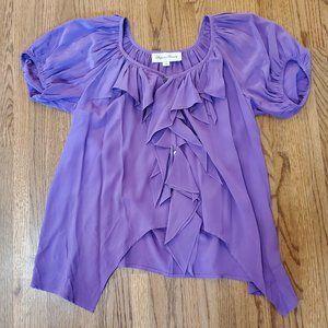Fifteen Twenty Purple Blouse S